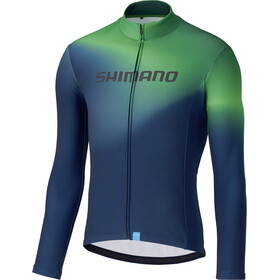 Shimano Team Maillot À Manches Longues Homme, green